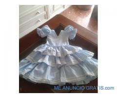 Traje flamenca niña talla 2